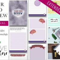 Year End Review Journal + Extended Rights