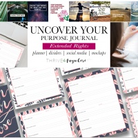 Uncover Your Purpose Journal (Extended)