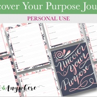 Uncover Your Purpose Journal (Personal)