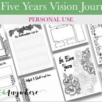 In Five Years Vision Journal (Personal)
