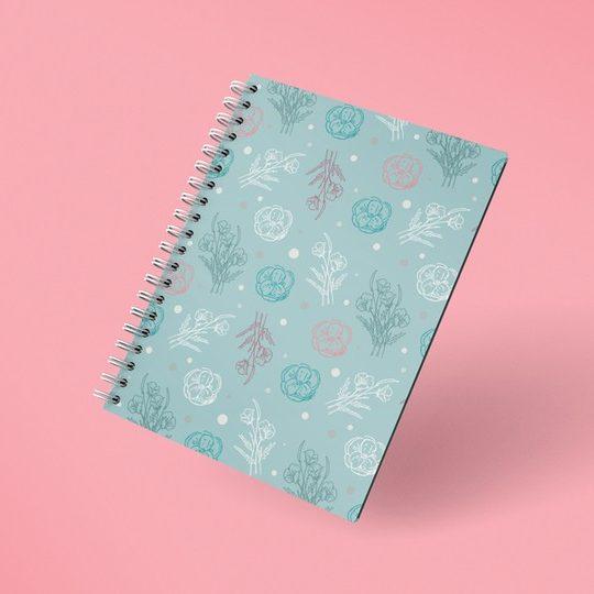 render-mockup-of-spiral-notebook-floating-facing-front-26111