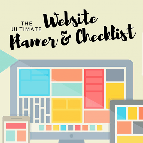 "<p>Great websites are not built on a whim, they are planned! Introducing The Ultimate Website Planner and Checklist to help you get your website setup or updated and to start bringing you business.</p> <p>"" width=""46″ height=""24″ /></a></p> <p style="