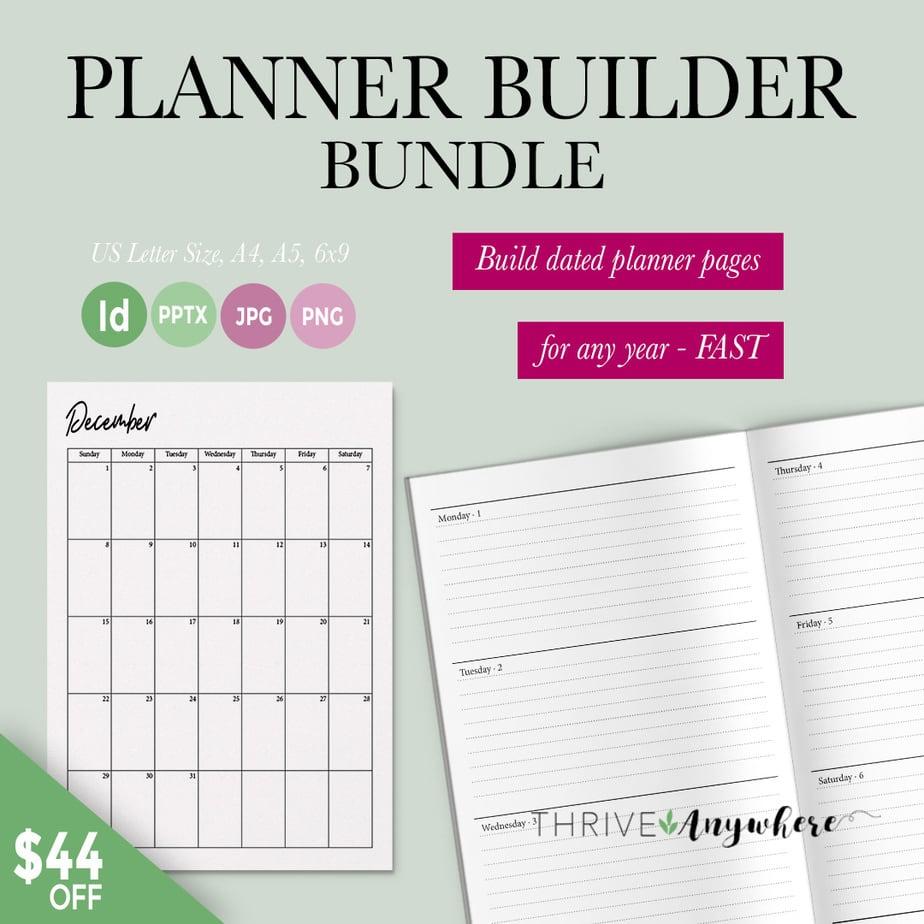 Planner Bundle